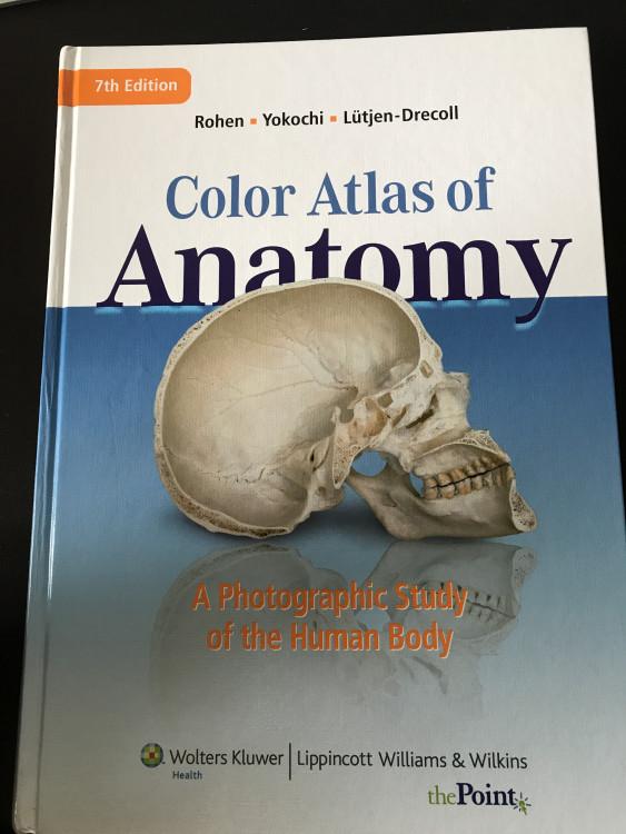 Color Atlas of Anatomy – StudentVIP Textbooks