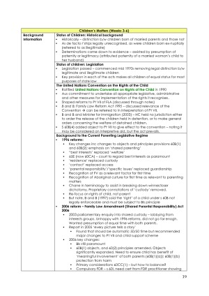 LLB303: Family Law Exam Notes – StudentVIP Notes