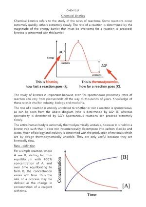 HD CHEM1021 Notes Part 1: Analytical chemistry – StudentVIP