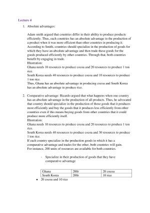 International Business Final Exam Notes – StudentVIP Notes