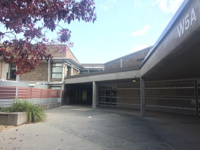 Area surrounding P.G. Price Theatre