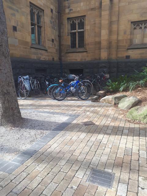 Cycle to uni!