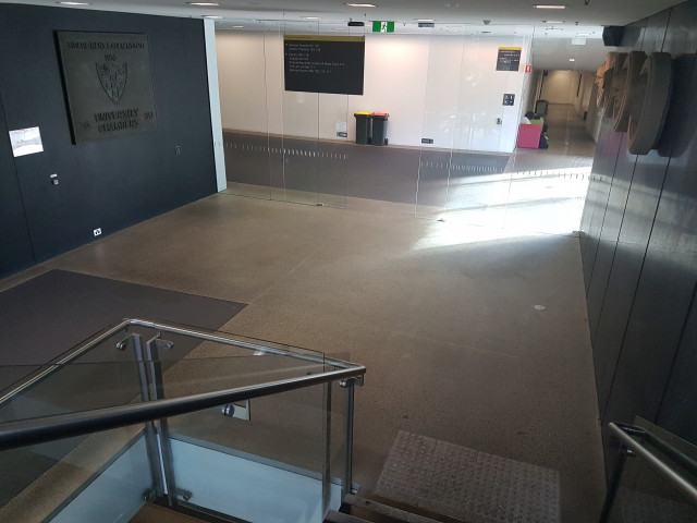 Entrance from New Law Building