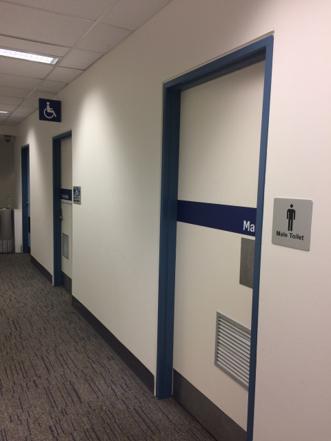 Male toilet at UOW Wollongong – StudentVIP on