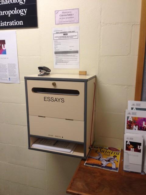 essay box