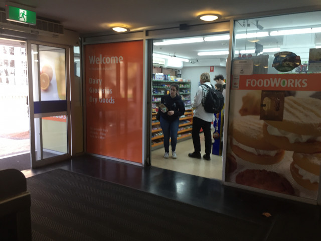 FoodWorks (view from inside Union House)