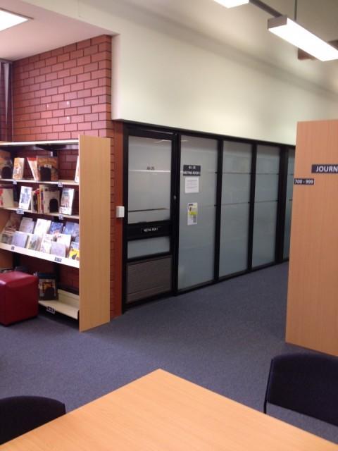 Latrobe Library Book Rooms