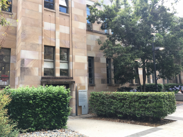 Parnell Building - Side Entrance