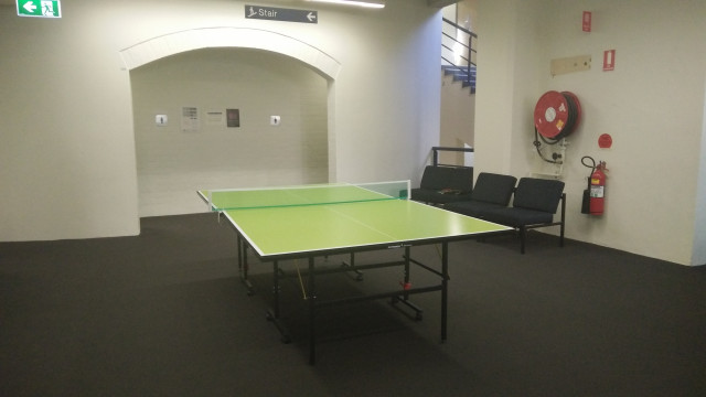Play a casual game of table tennis here