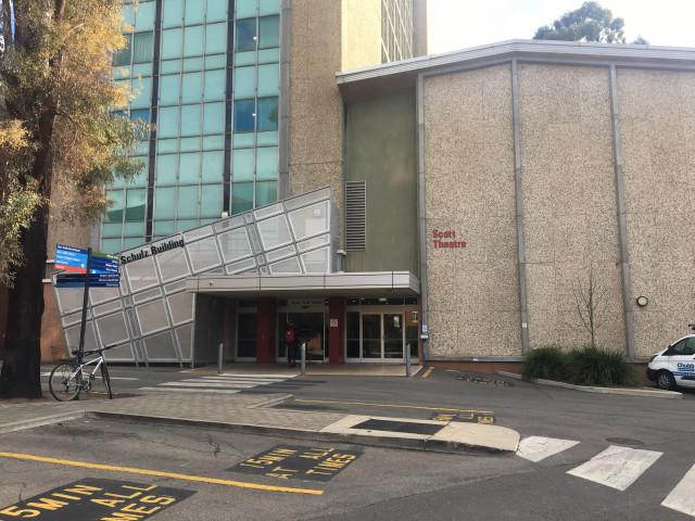 Scott Theatre front view