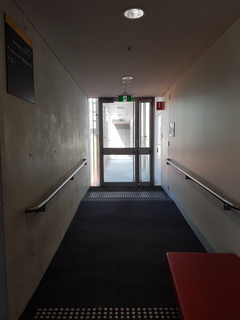 Shortcut through to Eastern Avenue auditiorium