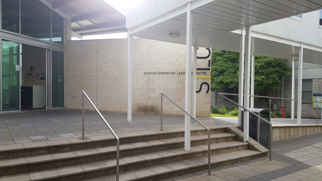 SILC entrance from the IST building.