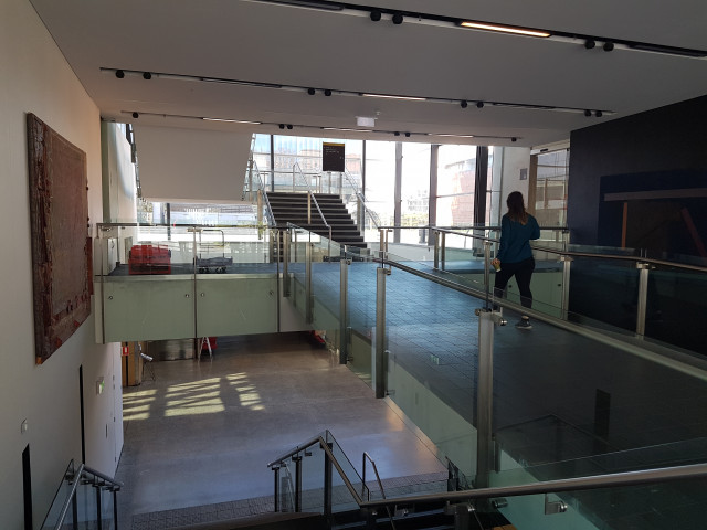 Stairs leading to Level 1 or Level 3