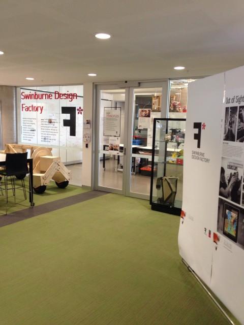 Swinburne Design Factory at Swinburne Hawthorn StudentVIP